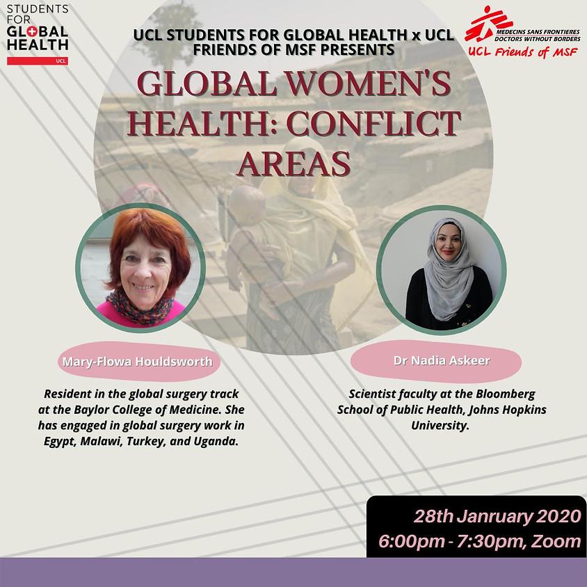 Global Women's Health: Conflict Areas
