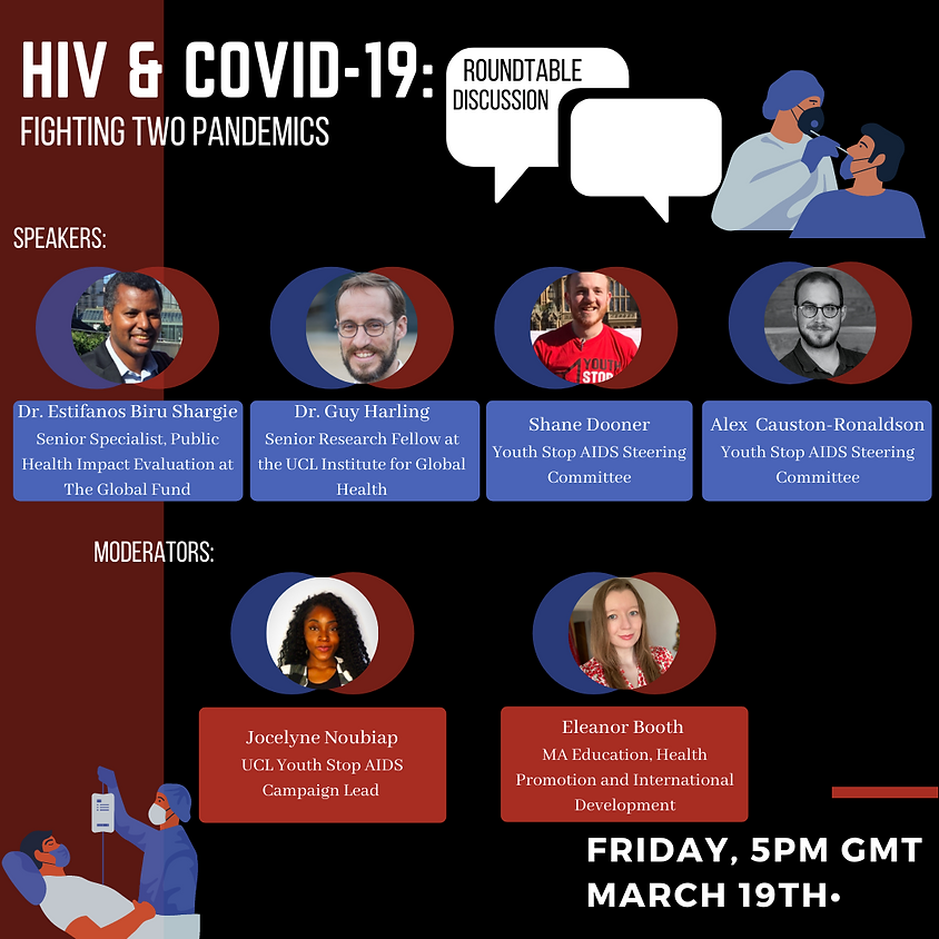 The Fight Against Two pandemics: HIV and COVID-19