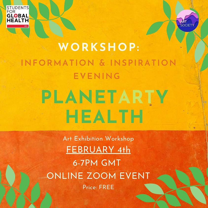 Art Soc x Healthy Planet: Planetarty Health Workshop