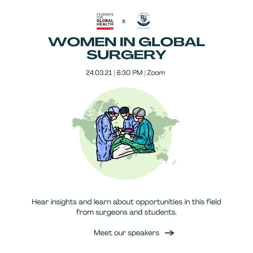 Women in Global Surgery