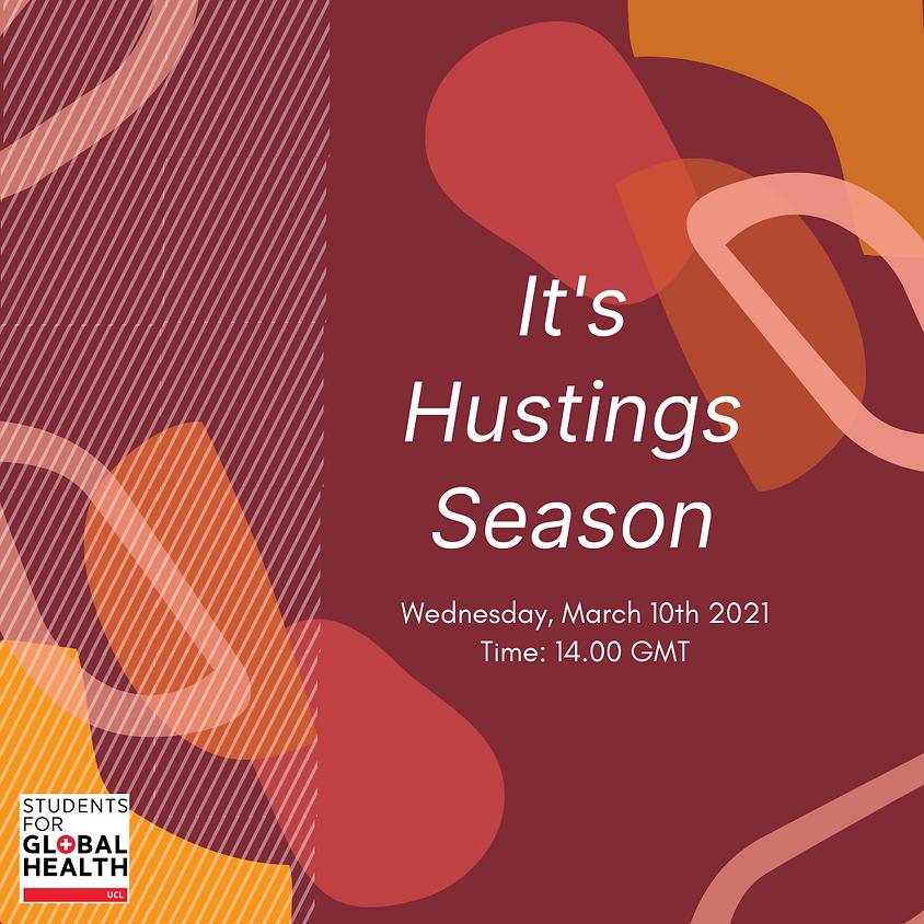 It's Hustings Season - SfGH UCL