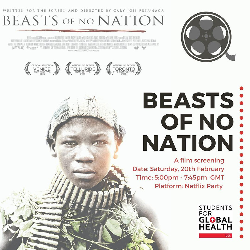 Beasts of No Nation: A Filming Screening