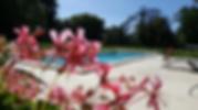 piscine sécurisée du château saint denis