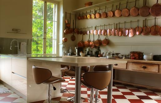 la cuisine équipée du chateau saint denis
