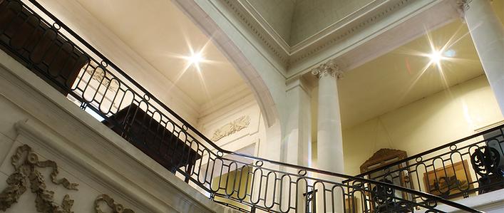hall of reception chateau saint denis