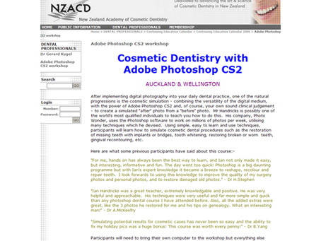 Cosmetic Dentistry with Adobe Photoshop