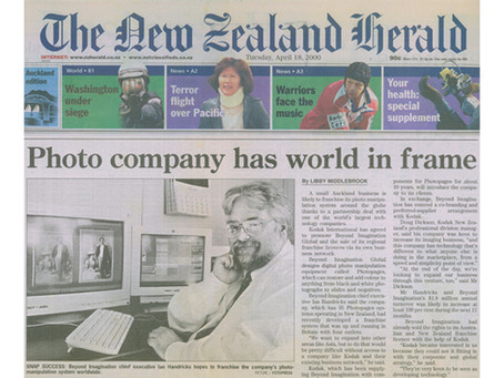Photo company has world in frame
