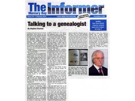 Talking to a genealogist