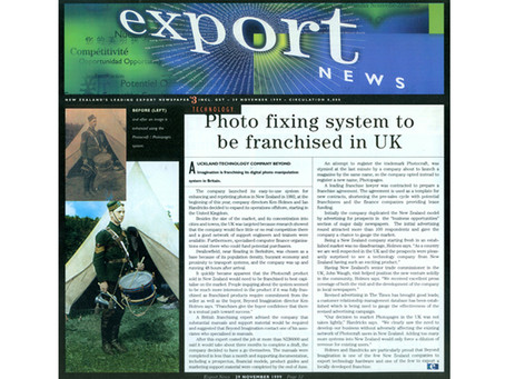 Photo fixing system to be franchised in UK