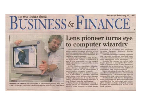 Lens pioneer turns eye to computer wizardry