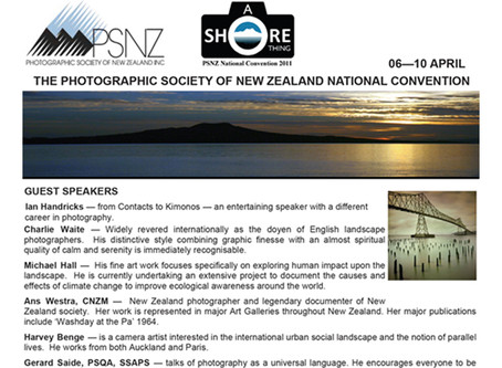 The Photographic Society of NZ National Convention