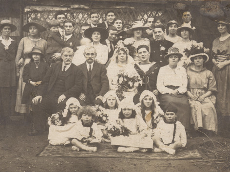 Coleman (Colonimus) Henriques Valentine and family