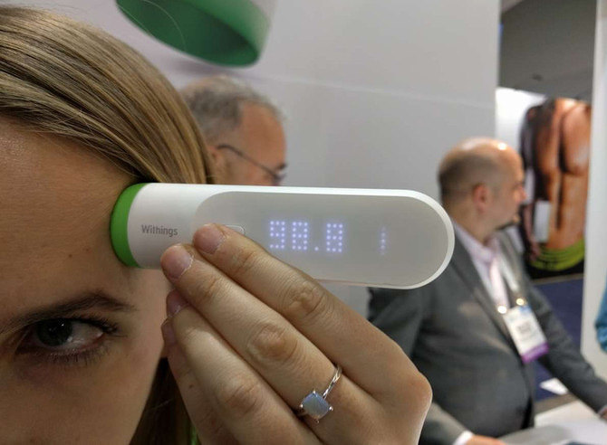 A Thermometer That Doesn't Enter Your Body