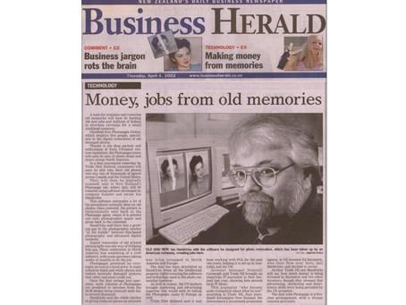 Money, jobs from old memories