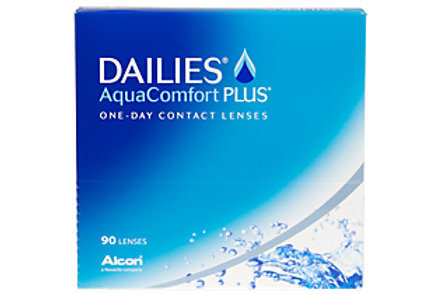 Dailies Aqua Comfort Plus Sphere 90 Pack