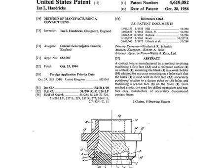 United States Patent No. 4,619,082