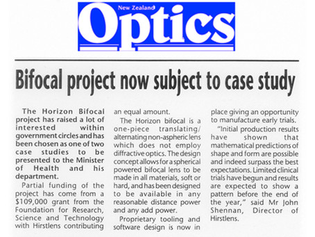 Bifocal project now subject to case study