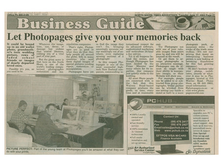Let Photopages give you your memories back