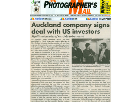 Auckland company signs deal with US investors