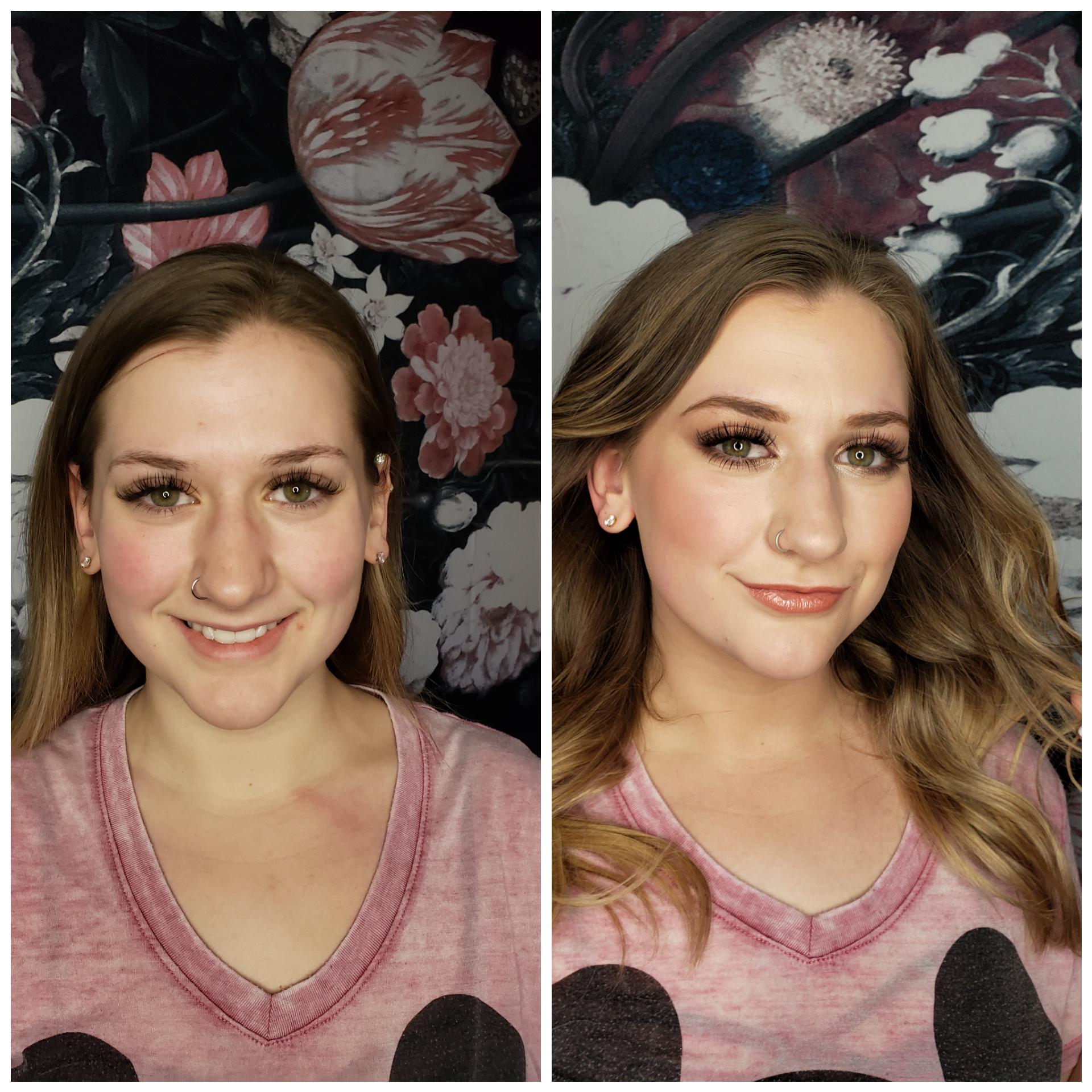 graduation makeup glam