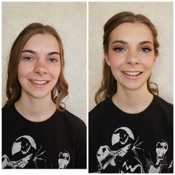 soft glam bridesmaids makeup