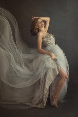 flowing dress portrait