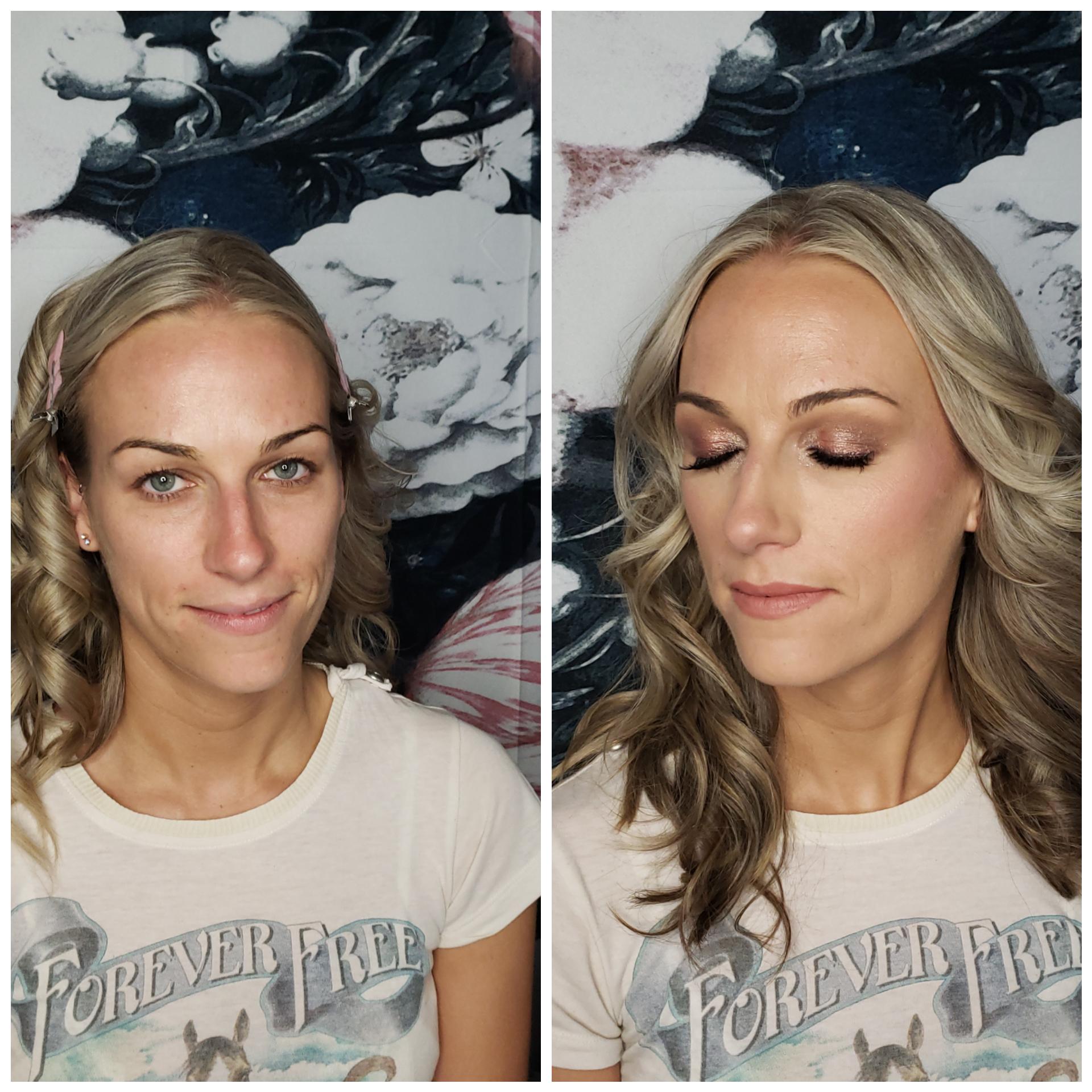 bridal trial makeup natural