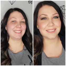 blush bridal makeup