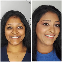 color correcting soft glam makeup