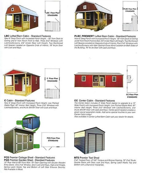 models sheet 2
