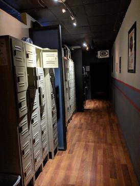 Locker Room Hall
