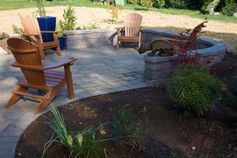 chairs-retaining-wall-stampe-concrete-pa