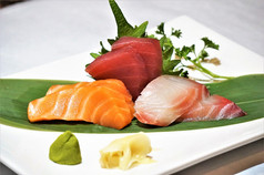 small plate shashimi