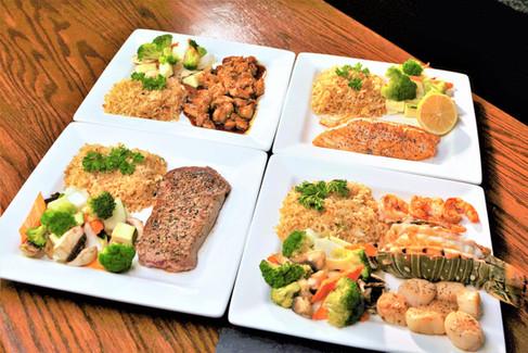 Hibachi Dishes