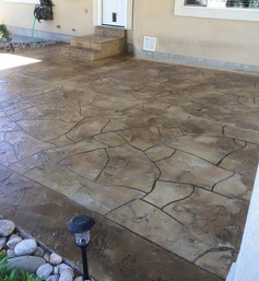 residential-stamped-stained-patio-brown-