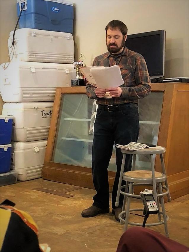 Poetry Prowl reading
