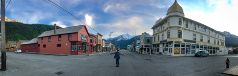 Sensational, intersectional Amy | Skagway quiets right down when the cruise ships tucker out.