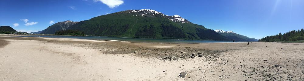 Sandy Beach, Douglas Island, near Juneau, Alaska