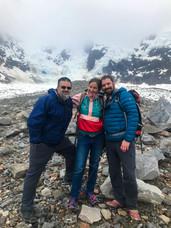 Don Rearden, ATKC, yours truly, Laughton Glacier