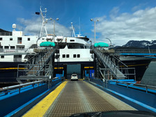 M/V Malaspina | Ferried from Haines to Skagway, meeting friends on board who'd started early that morning in Juneau.
