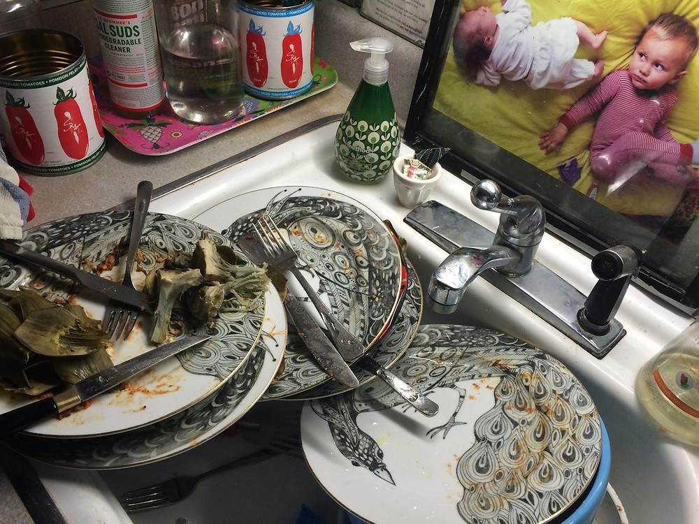 dinner aftermath