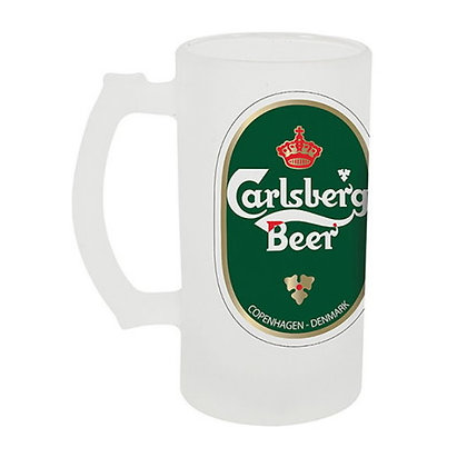 16 oz. Frosted Glass Stein