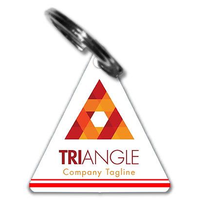 Triangle Key Chains