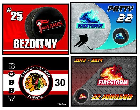 Economy Hockey Skate Mats (16x20)