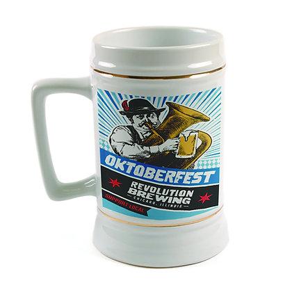 22 oz. Beer Stein - D-Handle