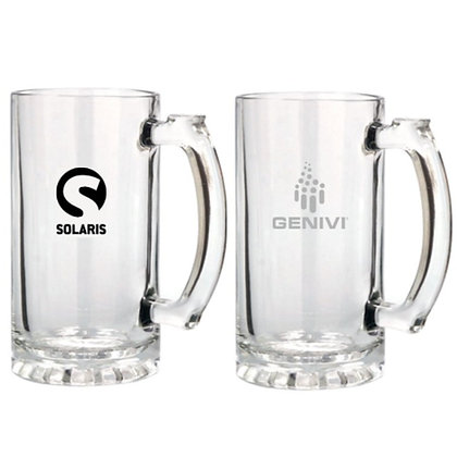 16oz Glass Stein