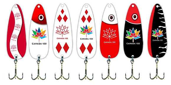 Canada 150 Lures