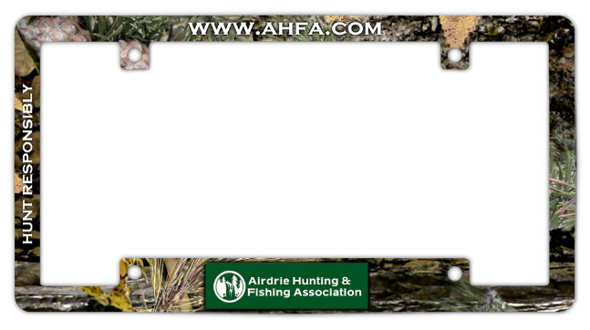 Camo License Plate Frame