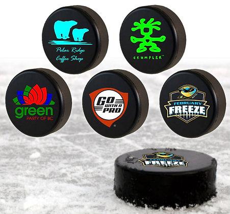 Imported Hockey Pucks (vice roy)