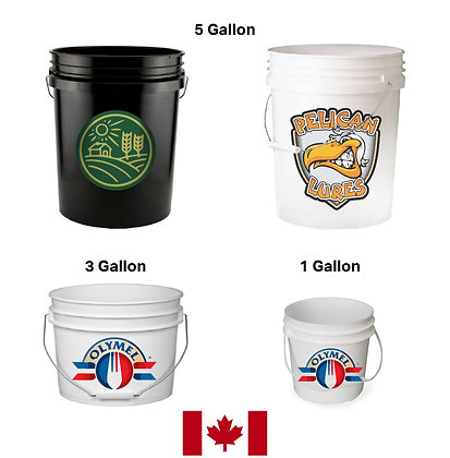 Plastic Buckets / Pails (CANADIAN)